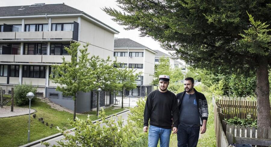 Flere og flere unge med ikke-vestlig baggrund fra landets ghettoområder bliver studenter. To af dem er 23-årige Deniz Emre Turan (til højre) og hans lillebror, 19-årige Resul Emin Turan, fra boligområdet Taastrupgaard. Deniz tog sidste år en HF-eksamen, mens Resul er blevet STX-student i år.