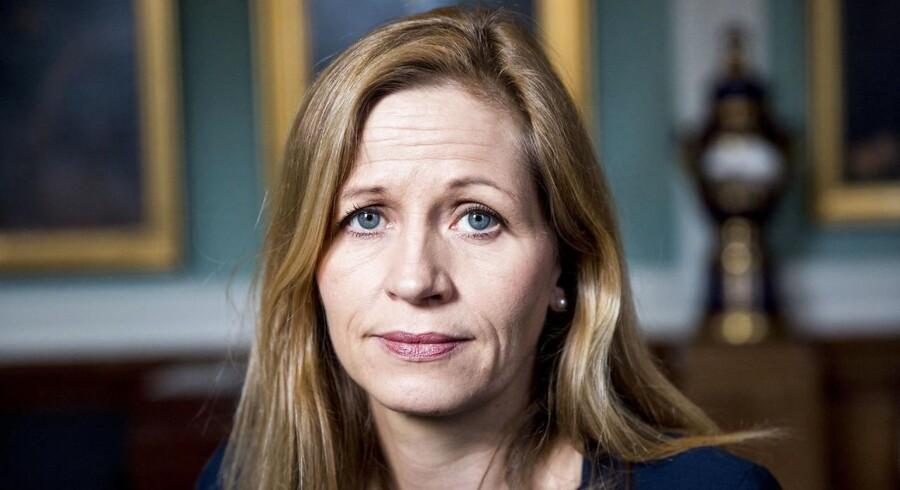 Det er unødvendigt at opruste i Østersøen, mener forsvarsordfører Marie Krarup (DF): »Urealistisk, at russiske missiler nogensinde vil blive rettet mod Danmark.« Foto: Nikolai Linares