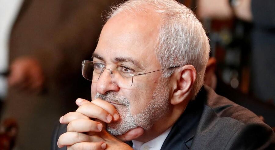 Den iranske udenrigsminsiter Javad Zarif. REUTERS/Grigory Dukor/File Photo/File Photo