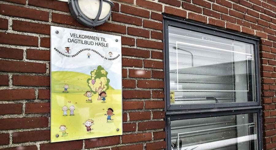 Børnehaven Børnehuset på Snogekæksvej i Aarhus V, søndag den 11. februar 2018. Retten i Aarhus behandler en sag mod en 33-årig mand, der er anklaget for i juni 2017 at have bortført en fireårig pige fra Børnehuse på Snogebæksvej i Aarhus V. Manden er anklaget for voldtægt, da han ifølge anklageskriftet krænkede pigen seksuelt.. (Foto: Henning Bagger/Scanpix 2018)