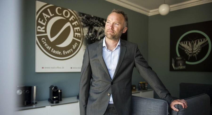 Lars Mansfield-Giese, ejer af det lille kaffefirma, Real Coffee, mener, at frygten for Amazon er overdrevet.