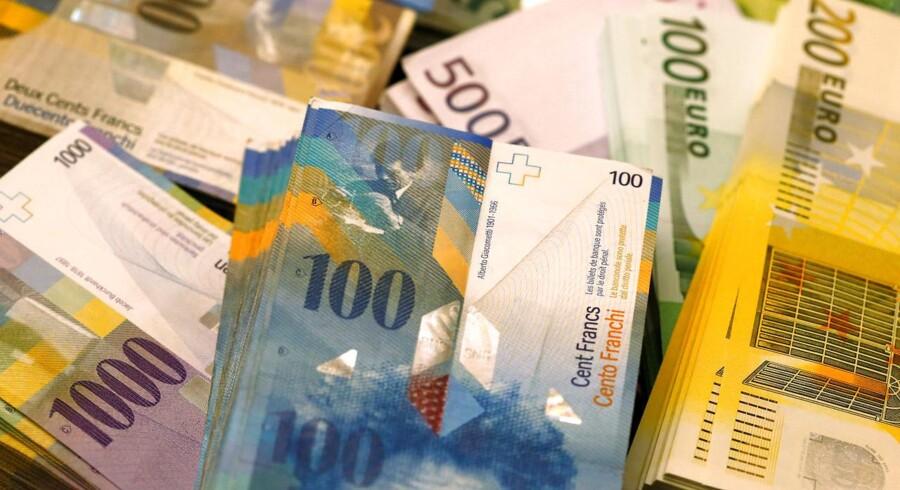 Uro om Nordkorea spiller igen fredag en rolle på finansmarkederne, og investorerne søger ly på valutamarkedet i yen og schweizerfranc og på obligationsmarkedet i statsobligationer.