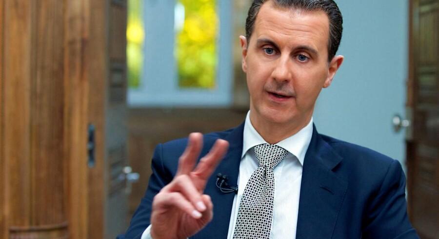 Syriens præsident Bashar al-Assad. Arkivfoto: Scanpix