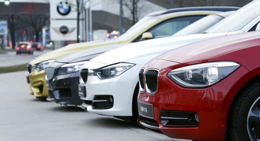 »For fem-seks år siden leasede folk ofte livsstilsbiler som Fiat 500 og BMW i forskellige modeller. I dag er det en stor blanding. Det er i endnu højere grad mellemklassebilerne og de små familiebiler,« siger Thomas Lindgren Mortensen, der forventer, at leasing vil fortsætte med at blive mere og mere almindeligt. ARKIVFOTO