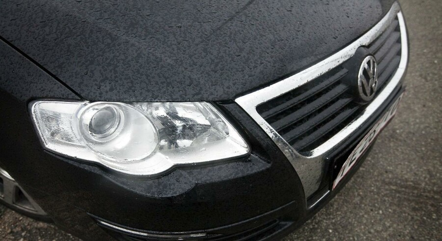 En sort VW Passat kan være nøglen til at opklare et mord i København. (Arkivfoto)
