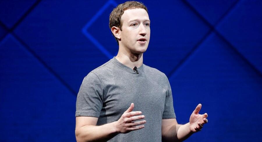 Facebook-stifter Mark Zuckerberg - der er lavet for mange fejl, og de skal rettes op i 2018.