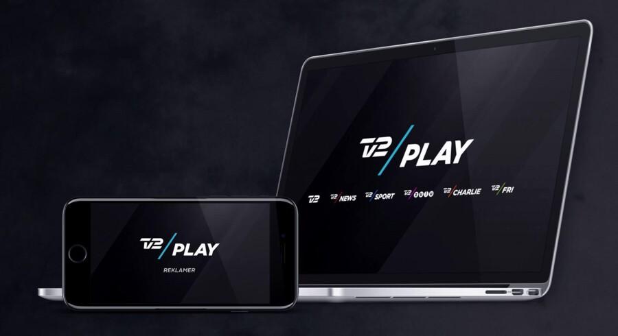 TV 2s streamingtjeneste, TV 2 Play, lanceres nu med reklamer, som man ikke kan spole forbi, og til lavere pris. Foto: TV 2 Play