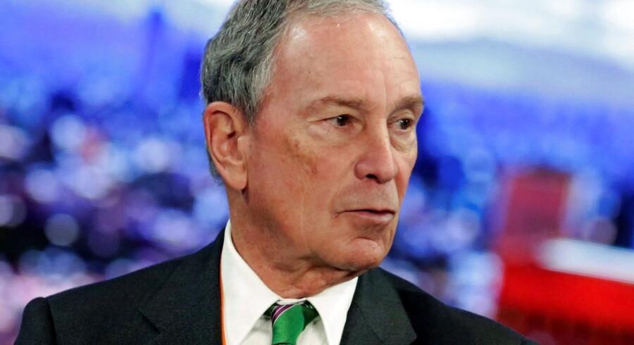 Arkivfoto: Miliardæren Michael Bloomberg.