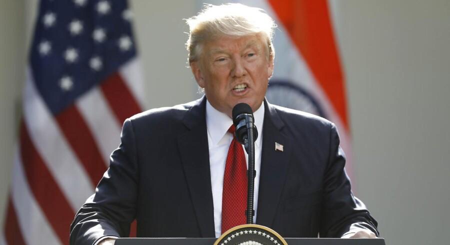 Arkivfoto. USA har »identificeret potentielle forberedelser« på et nyt kemisk angreb og advarer Syriens præsident.