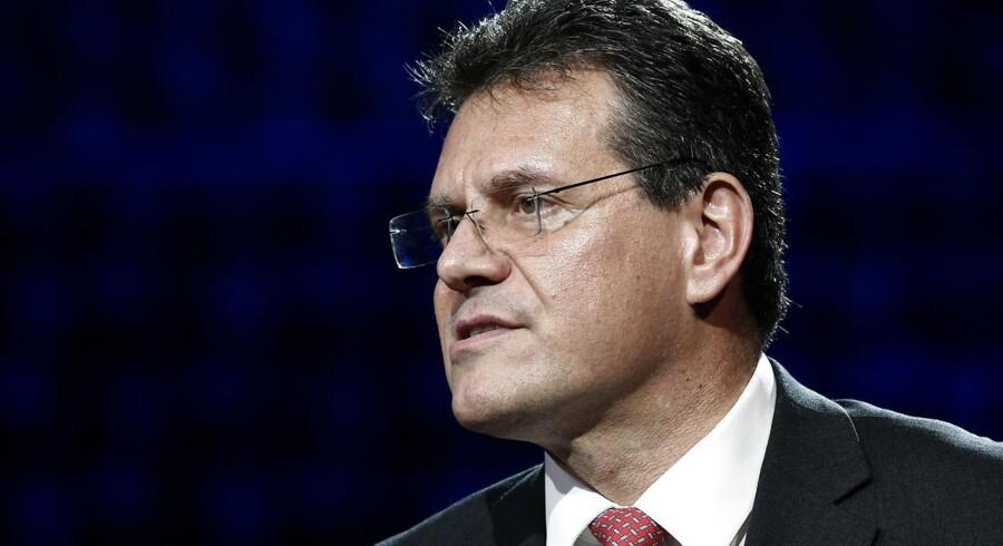 EU-kommissær, Maros Sefcovic.