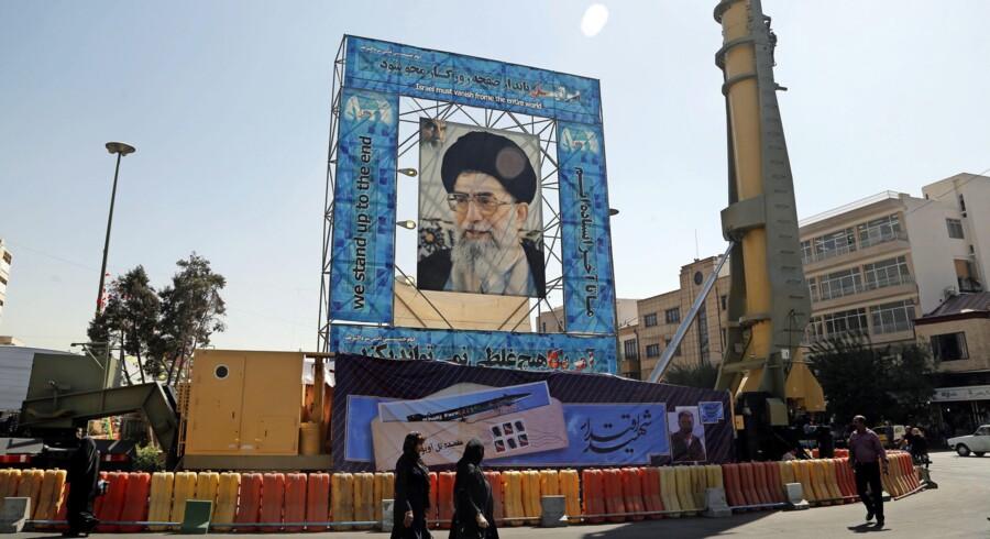 Udenrigspolitisk Nævn er rejst til Iran for bl.a. at mødes med repræsentanter for præstestyret. Foto: EPA