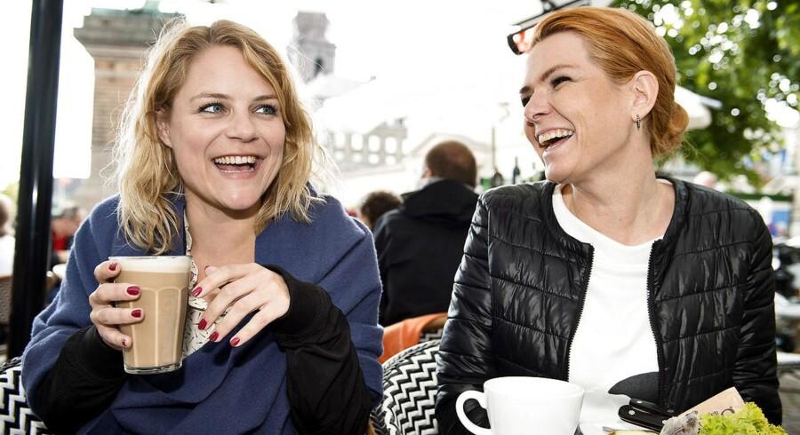 I valgkampen i 2015 interviewede BT Enhedslistens tidligere politiske ordfører Johanne Schmidt-Nielsen og Inger Støjberg (V) om store politiske uenigheder – men også om venskab.