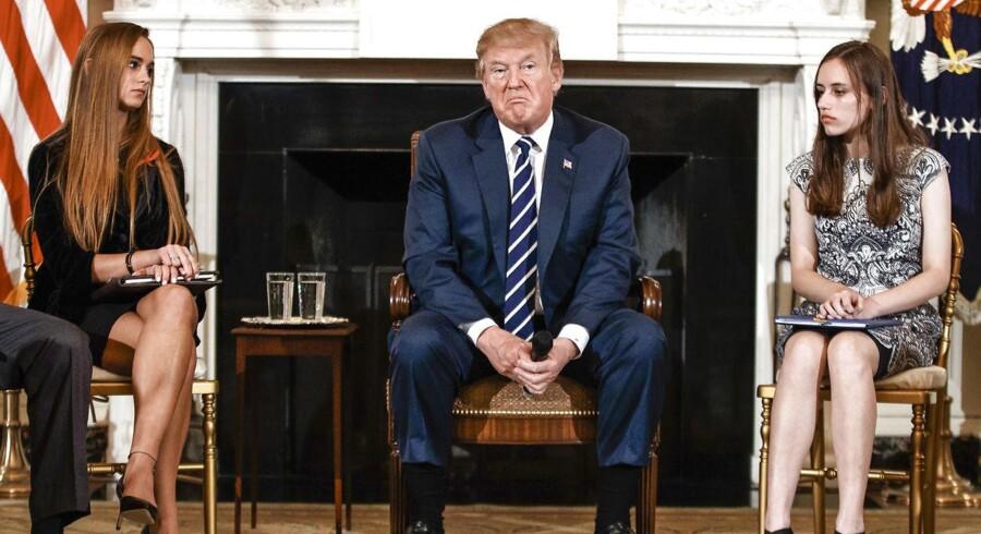 De overlevende efter skoleskydningen i Florida har vundet den amerikanske våbendebat, bl.a. fordi de har udfordret Trumps »empatiske underskud.«