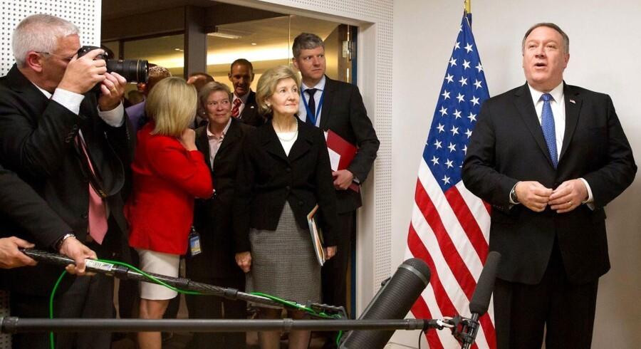 USA's nye udenrigsminister, Mike Pompeo.