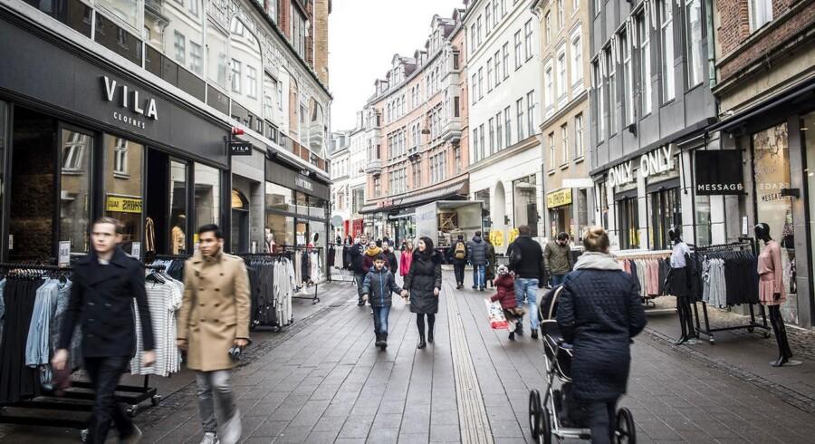 Arkivfoto: 2017 kan blive det første år nogensinde, hvor der er en udenlandske køber i samtlige handler med ejendomme på Strøget og Købmagergade.