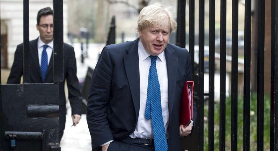 Den britiske udenrigsminister Boris Johnsons ministerium siger, at russerne har reageret som ventet på Storbritanniens udvisning af 23 russiske diplomater. Scanpix/Daniel Leal-olivas/arkiv