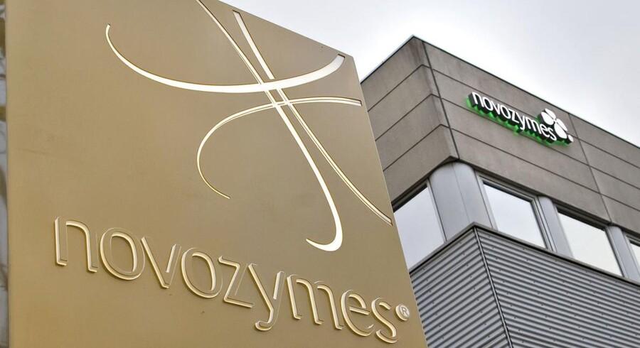 Novozymes-aktien dykker efter farvel til finansdirektøren.