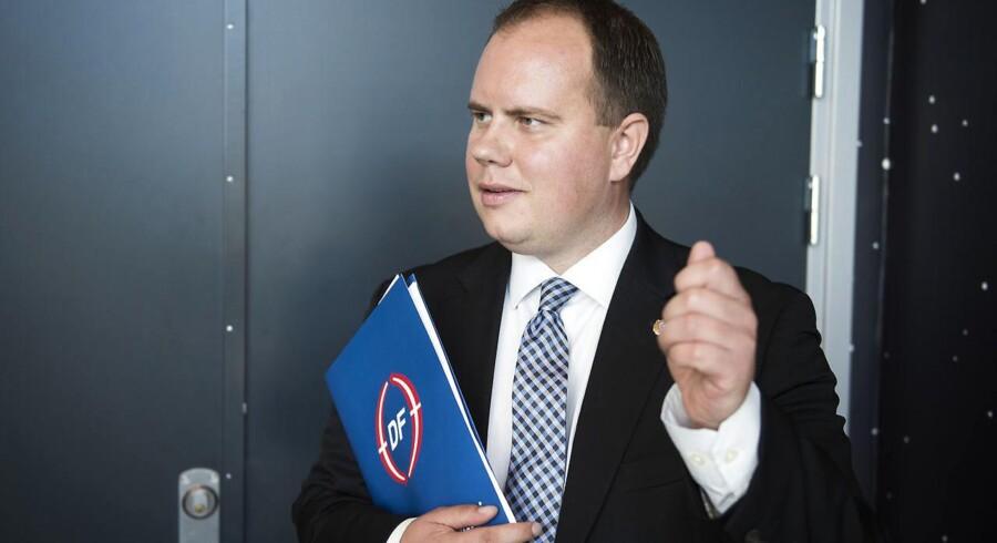Arkivfoto: Udlændingeordfører Martin Henriksen (DF) siger, at hans parti helst havde set, at man skal være dansk statsborger for at stemme og stille op til kommunal- og regionsvalget.