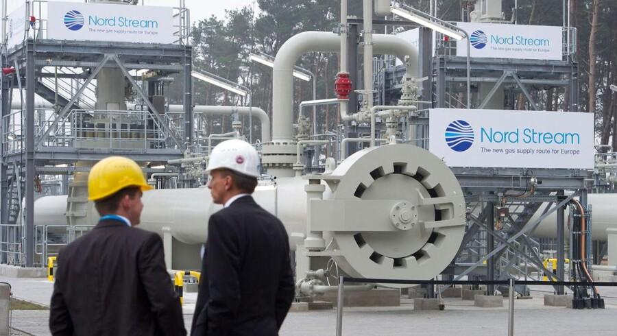 Nord Stream 2 piplinen skal løbe fra Rusland til Tyskland. Amerikanske sanktioner kan dog kaste alvorlig grus i maskineriet.