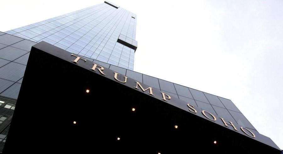 Den amerikanske præsident, Donald Trumps hotelkæde har igen haft ubudne gæster, som er gået efter kreditkortoplysninger. Arkivfoto: Jessica Rinaldi, Reuters/Scanpix