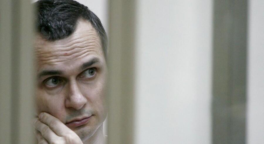 Den ukrainske filminstruktør Oleg Sentsov sultestrejker i et russisk fængsel nord for polarcirklen. Russiske menneskeretsgrupper regner ham for en samvittighedsfange.