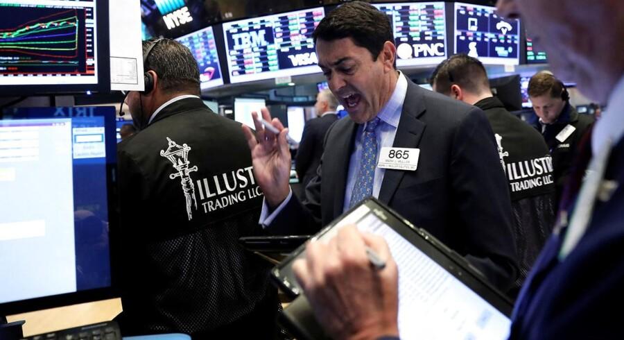 Arkivfoto. Som på de fleste andre finansielle markeder er der relativt stille og roligt på valutamarkedet onsdag for så vidt angår dollarkrydsene.