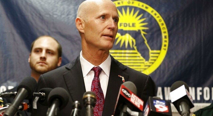 Floridas guvernør Rick Scott. Foto: Mike Carlson/ Getty Images
