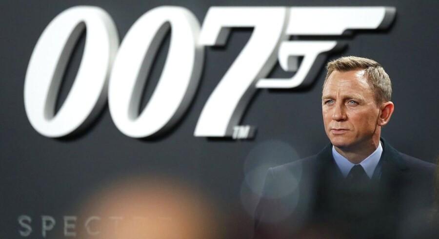 Daniel Craig tager endnu en runde som agent 007. Imens er der bag linierne kamp om de lukrative filmrettigheder. Arkivfoto: Joeg Carstensen, EPA/Scanpix