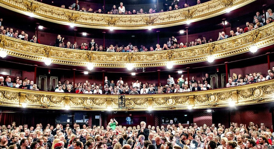 Arkivfoto af forestilling i Det Kongelige Teater, 1. oktober 2016.