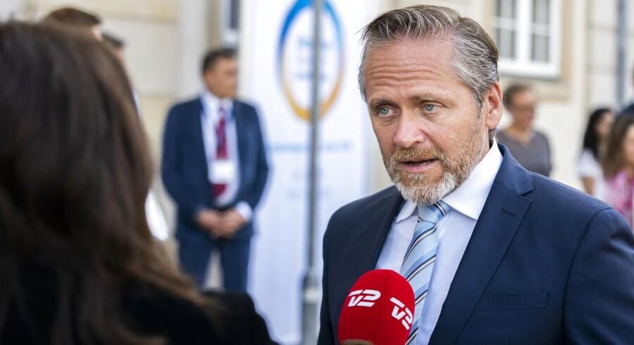 Udenrigsminister Anders Samuelsen.