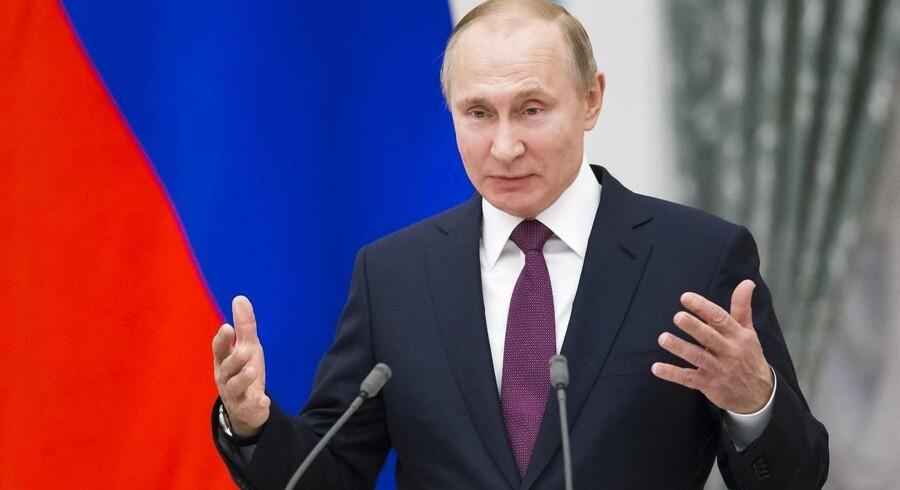 Den russiske præsident Vladimir Putin er klar til at gengælde Vestens sanktioner.
