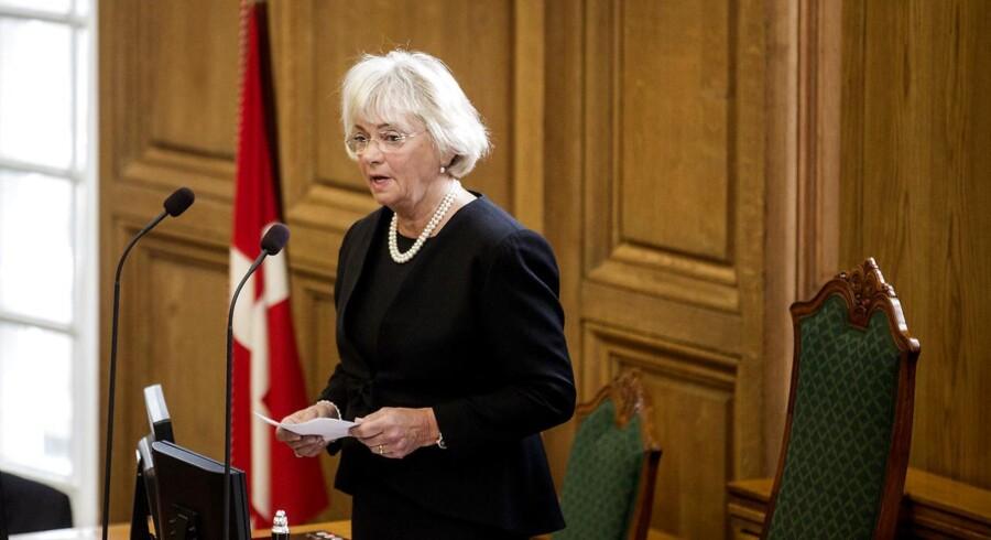 Ombudsmanden, Rigsrevisionen og Statsrevisorernes sekretariat hører til i hovedstaden, mener Pia Kjærsgaard.