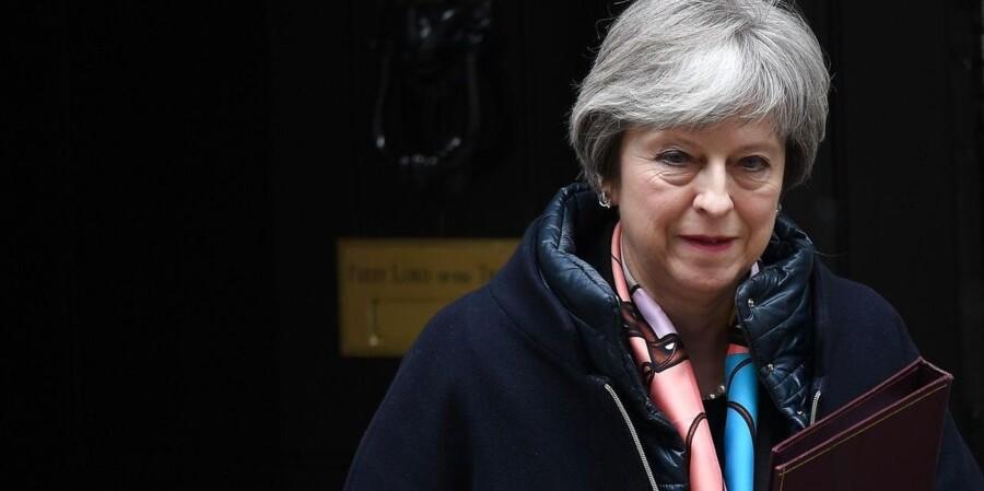 Theresa May tager nu den russiske udfordring op, og hun stiller sine allierede et spørgsmål: Er I med os eller imod os i kampen mod Rusland? Foto: Neil Hall