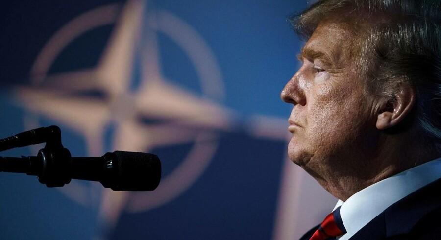 Donald Trumps handelskrig skaber bekymring for den økonomiske udvikling.