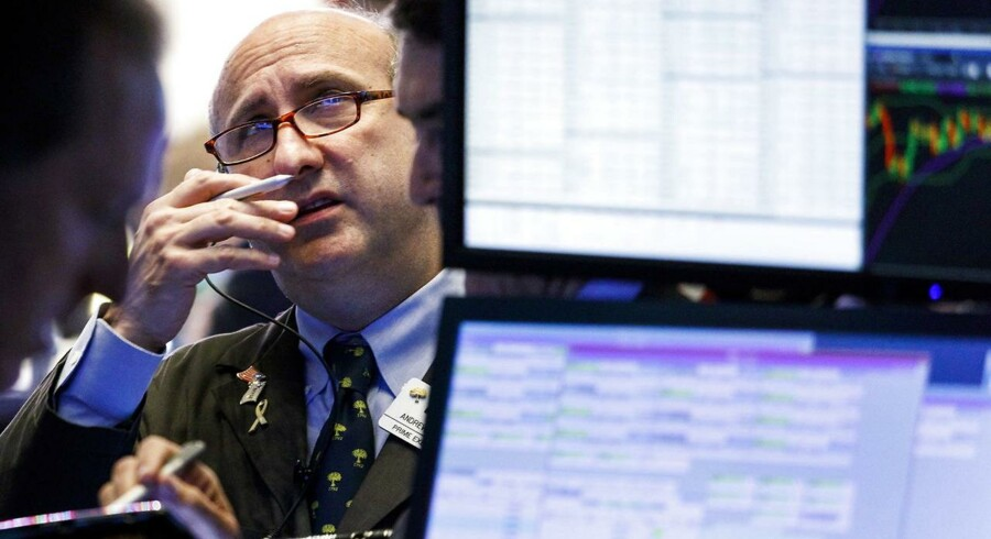 Bekymrede miner på Wall Street