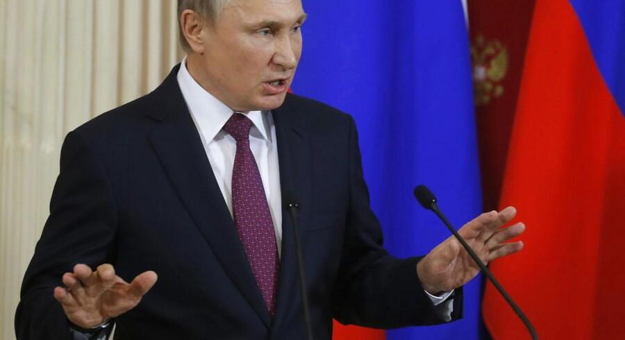 Arkivfoto. Stærke protestpartier vil svække sammenholdet i Europa, og sanktionerne mod Rusland vil blive lempet. Det forudser den russiske regerings rådgivere i en ny rapport.