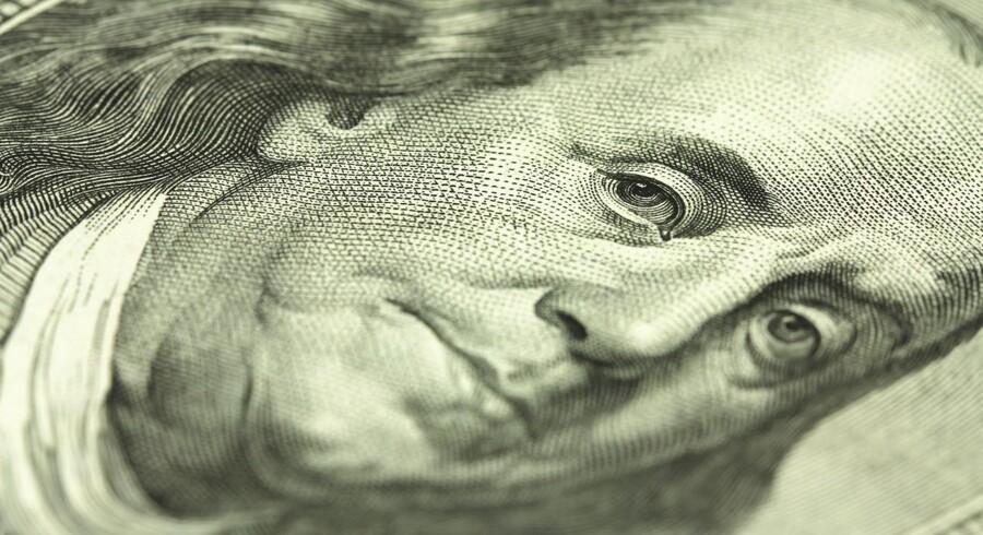 Den styrkede dollar et tegn på optimisme i den amerikanske økonomi.