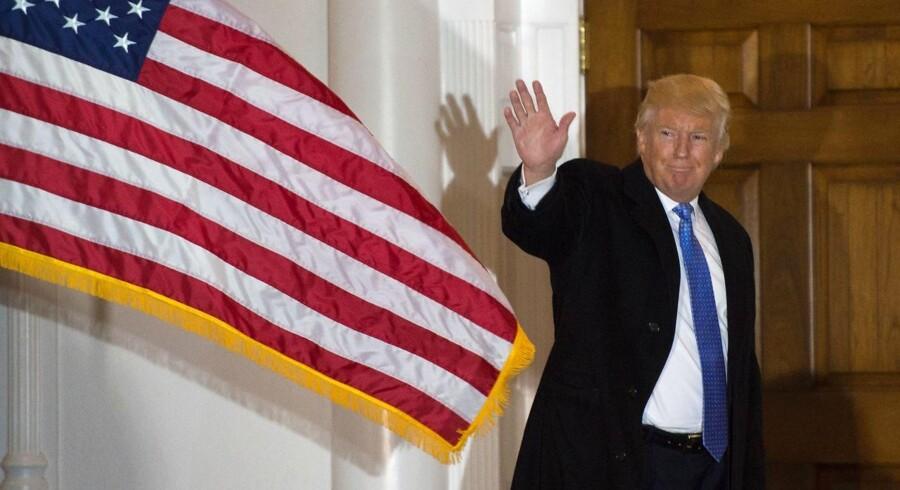 Donald Trump har under valgkampen været benhård i sine udmeldinger omkring abort og homoseksuelle. Nu er han noget mere afdæmpet.