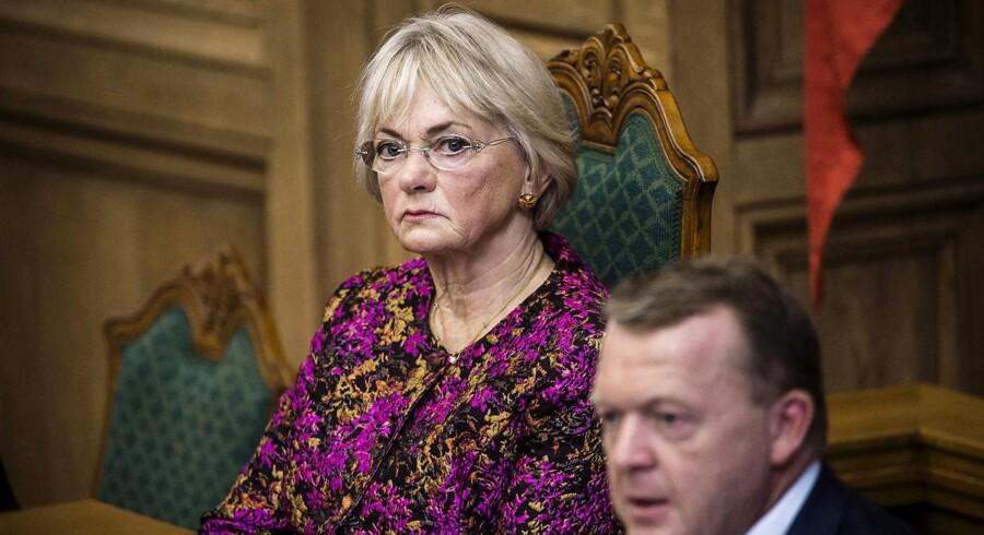 Arkivfoto: Folketingets formand, Pia Kjærsgaard, under Folketingets åbning.
