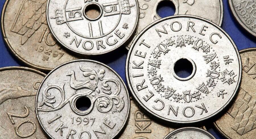 Norske kroner. Foto: Iris.
