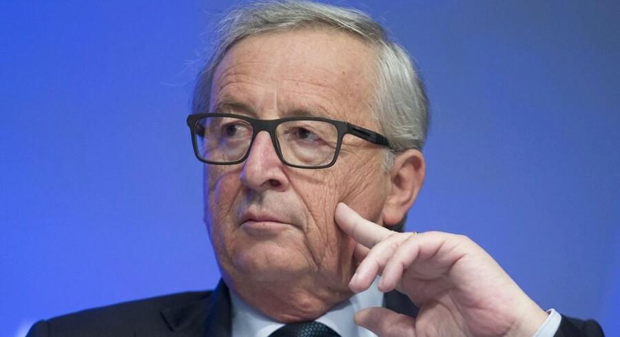 Arkivfoto. EU-Kommissionens formand, Jean-Claude Juncker, advarer Storbritannien mod at undervurdere vanskelighederne ved de kommende exit-forhandlinger.
