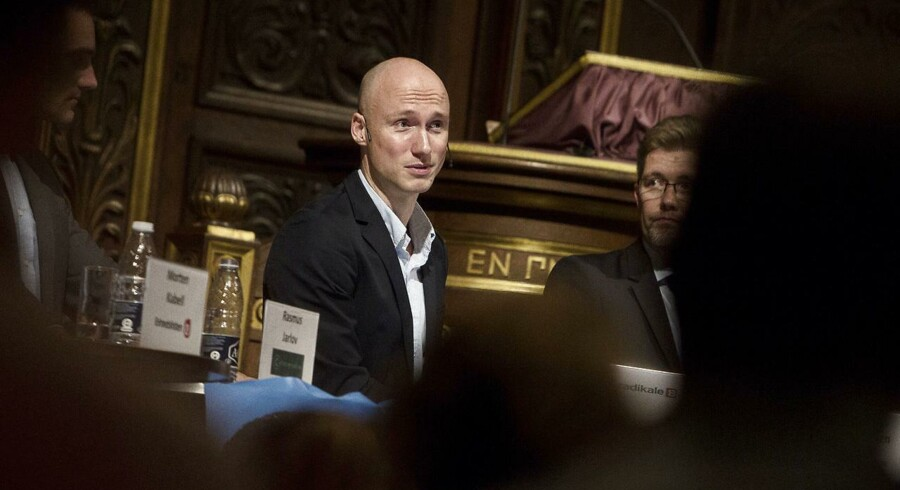 ARKIV. Den radikale gruppeformand i København, Tommy Petersen, bliver ny politisk leder for partiet. (Foto: Kasper Palsnov/Scanpix 2013)