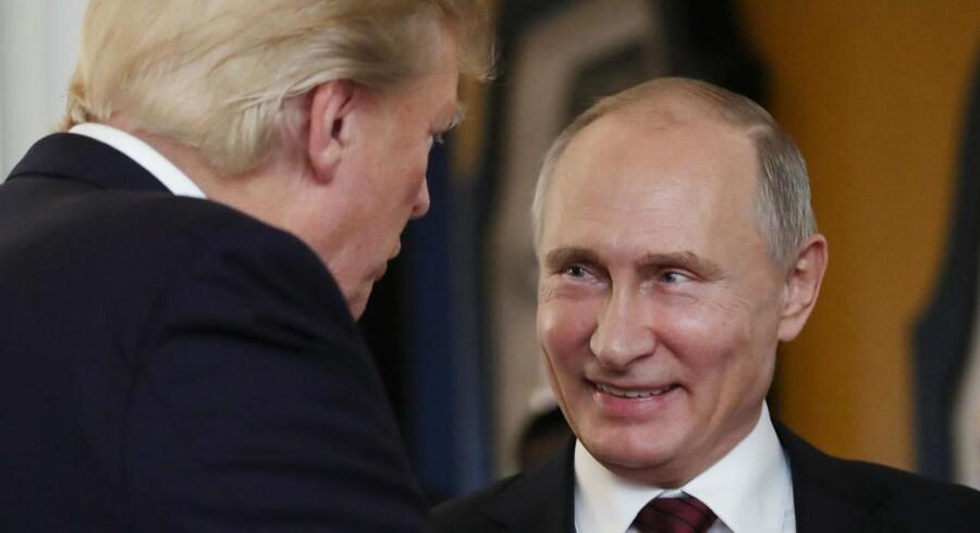 En rapport om indblanding i amerikanske valg har været mere end et år undervejs. Anledningen var russisk indblanding i det amerikanske præsidentvalg. / AFP PHOTO / SPUTNIK / Mikhail KLIMENTYEV