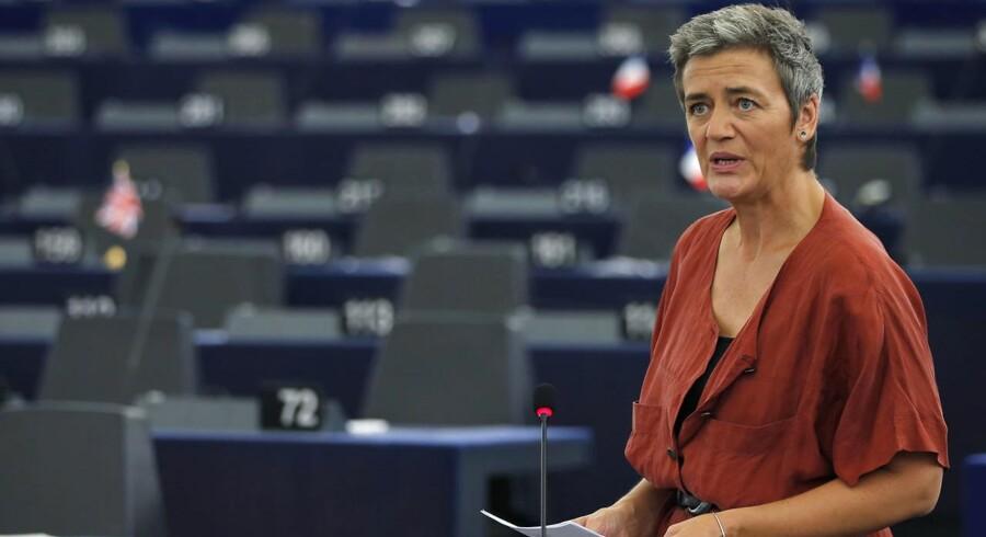 Arkivfoto: EU's konkurrencekommissær, Margrethe Vestager, er glad for at kunne godkende statsstøtten til projektet. Det fremgår af en pressemeddelelse.