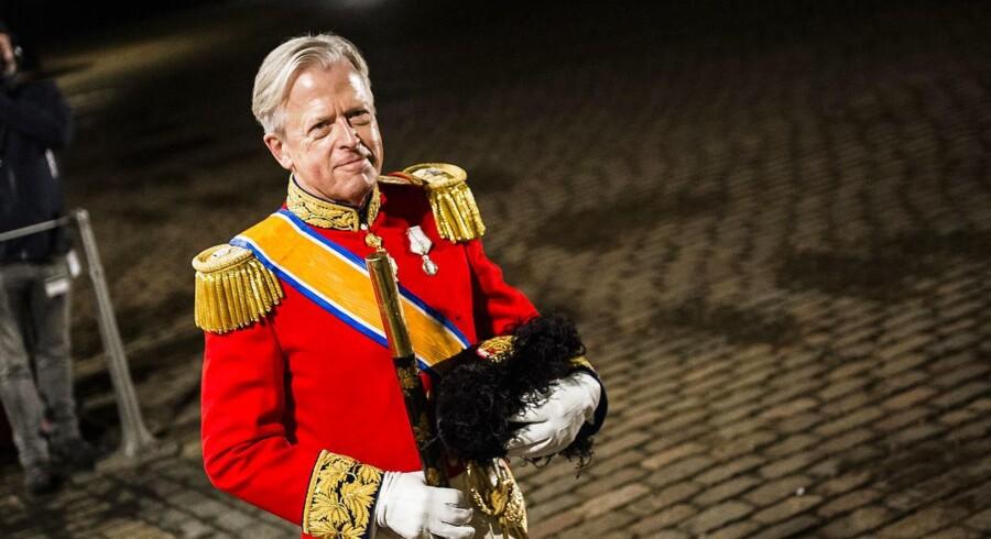 Klædt i smoking skal hofmarskal Michael Ehrenreich stå i spidsen for dronningens aftenselskab for kunst og kultur. Arkivfoto.