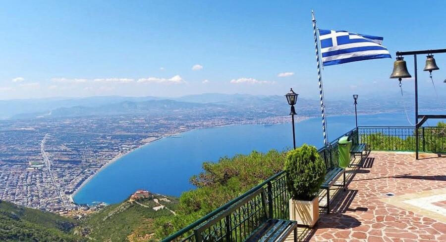 Grækenland er ikke den allerbilligste feriedestination, men når man sammenholder pris og kvalitet, er landet populært blandt danskerne. Foto: PR