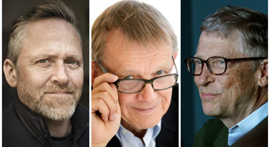»Hvis man godt vil gøre noget godt for verden og løse dens problemer, så er det rigtig vigtigt, at man forstår, hvor vi er, og hvor vi kommer fra - hvad det er for en udvikling, vi er inde i. Hvis man bare får et tal uden at kende baggrunden, tænker man: »Det er helt forfærdeligt, det kan vi ikke løse, verden går under,« siger Anders Samuelsen om, hvorfor Hans Roslings bog »Factfulness« er så god.