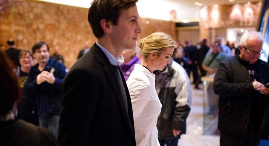 Ivanka Trump og Jared Kushner.