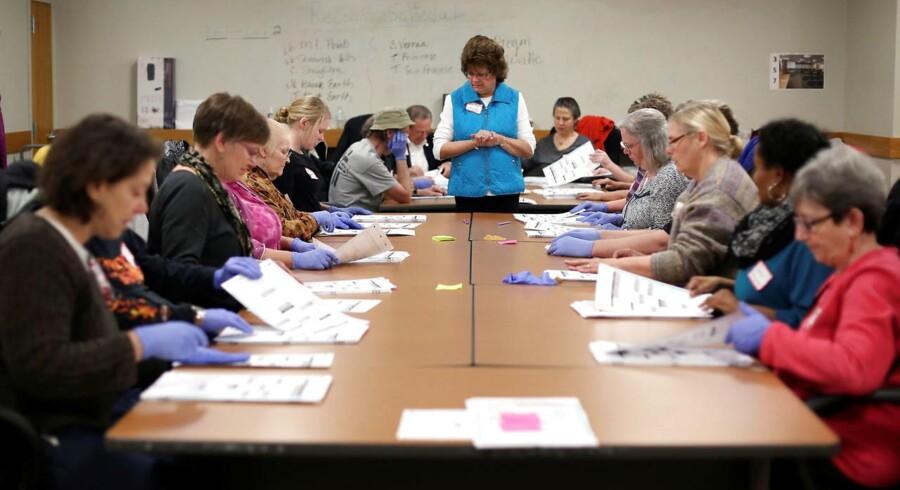 Den kommende præsident fik ifølge den nye optælling i Wisconsin 25 færre stemmer end først konkluderet