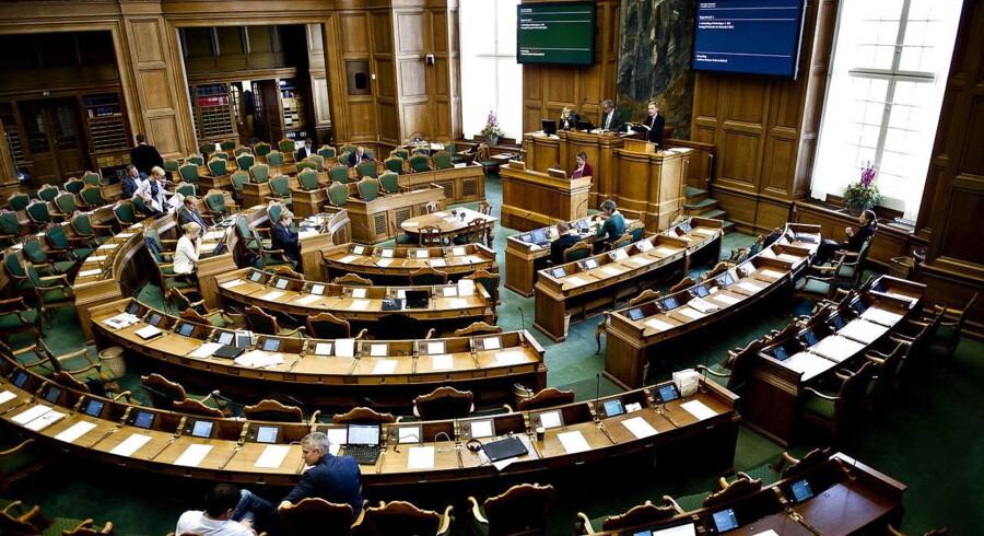 Flere medlemmer fra Dansk Folkeparti buhede i går aftes af Enhedslistens Pelle Dragsted under Folketingets afslutningsdebat.